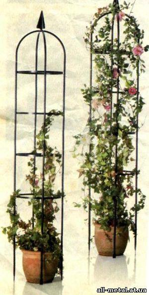 опора для вьющихся растений фото